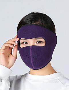 billige Sykkelklær-Ansiktsmaske Vår / Høst / Vinter Hold Varm / Fukt Wicking / Myk Utendørs Trening / Alpin / Sykkel Unisex Polyester / Terylene Ensfarget / Mikroelastisk / UV-bestandig