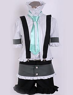 """billige Anime Kostymer-Inspirert av Vokaloid Cosplay Anime  """"Cosplay-kostymer"""" Cosplay Klær Moderne Topp / Bukser / Slips Til Herre / Dame"""