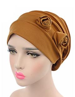 billige Hatter til damer-Dame Vintage / Fest / Ferie Solhatt - Flettet, Ensfarget