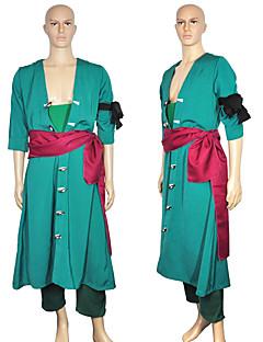 "billige Anime Kostymer-Inspirert av One Piece Roronoa Zoro Anime  ""Cosplay-kostymer"" Cosplay gensere N / A N / A / Corsage / Belte / bånd Til Unisex"