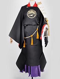 """billige Anime Kostymer-Inspirert av Touken Ranbu Cosplay Anime  """"Cosplay-kostymer"""" Cosplay Klær / Japansk Kimono Spesielt design Mer Tilbehør / Kimono Frakke / Kostume Til Herre / Dame"""