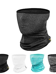 billige Sykkelklær-CoolChange hals gamasjer / Ansiktsmaske Vår / Sommer Pusteevne / UV-bestandig / Svettereduserende Sykling / Sykkel / Camping / Backcountry Unisex Silke / Lycra Ensfarget / Elastisk