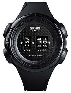 SKMEI Pánské Sportovní hodinky Náramkové hodinky Digitální hodinky  japonština Japonské Quartz Silikon Černá 50 m Voděodolné kreativita Nový  design Digitální ... dd8af0eceec