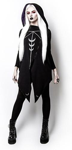 ieftine -Pentru femei Halloween Hanorac cu Glugă Geometric