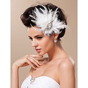 povoljno Dodaci za kosu-Til Fascinators / Šeširi s Cvjetni print 1pc Vjenčanje / Special Occasion Glava