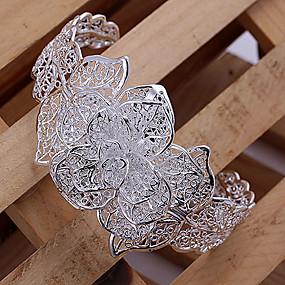baratos Pulseira de Charme-Mulheres Pulseiras com Pendentes senhoras Cobre Pulseira de jóias Para Festa