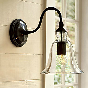 cheap Outdoor Wall Lights-LWD Traditional / Classic Wall Lamps & Sconces Metal Wall Light 110-120V / 220-240V 60W