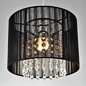 abordables Candelabros-Tambor Lámparas Colgantes Luz Downlight Cromo Metal Cristal, LED 110-120V / 220-240V Blanco Cálido / Blanco Frío Bombilla no incluida / E26 / E27