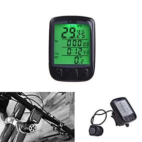 cheap Bike Computers & Electronics-Bike Computer Waterproof 28 Multifunction Wireless Bike Bicycle Cycling Computer Odometer Speedometer LCD Backlit