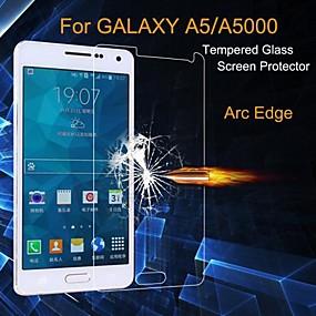 abordables Protectores de pantalla para celular-Protector de pantalla para Samsung Galaxy A5 Vidrio Templado 1 pieza Alta definición (HD) / Vidrio Templado de Alta Resistencia / Ultrafina