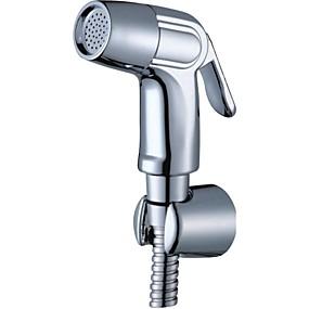 cheap Bidet Faucets-Bidet Faucet ChromeToilet Handheld bidet Sprayer Self-Cleaning Contemporary / Single Handle One Hole
