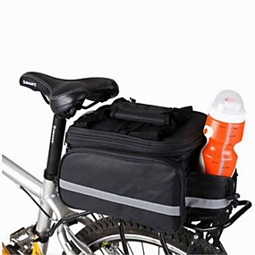 cheap Bike Trunk Bags-8 L Bike Panniers Bag / Shoulder Bag / Bike Rack Bag Compact, Multifunctional Bike Bag Canvas Bicycle Bag Cycle Bag Camping / Hiking / Cycling / Bike