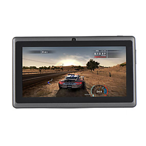 billige Tabletter-A23 7 tommers Android tablet (Android 4.4 1024 x 600 Dobbeltkjerne 512MB+8GB) / TFT / # / USB / 32 / TFT