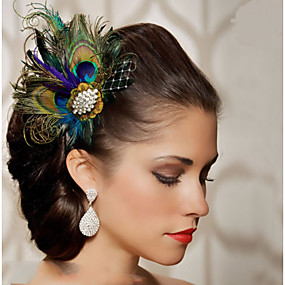 povoljno Dodaci za kosu-Perje Kosa Pribor Perje perika Pribor Žene kom 6-10cm cm