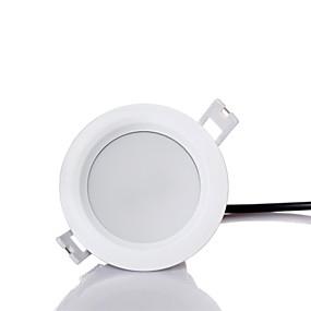 billige Innfelte LED-lys-zdm 1pc vanntett dimming høy kvalitet fortykning 7w 500-600lm ledet led downlights perler varm hvit / kald hvit 220-240v