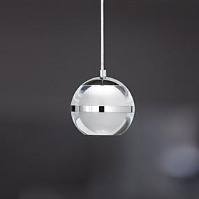 billige Hengelamper-UMEI™ Globe Anheng Lys Omgivelseslys Krom Metall Akryl LED 110-120V / 220-240V Varm Hvit / Kald Hvit LED lyskilde inkludert / Integrert LED / FCC