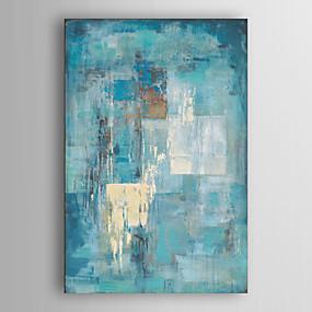 povoljno Life VC-ručno oslikane apstraktne slike platno umjetnosti minimalistički slika tirkizno plavo apstraktno akrilno slikarstvo suvremena umjetnost industrijska teksturirana umjetnost