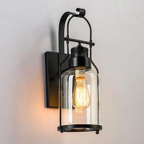 povoljno Vanjska zidna svjetla-Rustic/Lodge Vintage Tradicionalni / klasični Zemlja Inovativne cipele Retro Zidne svjetiljke Za Metal zidna svjetiljka 220V 110V
