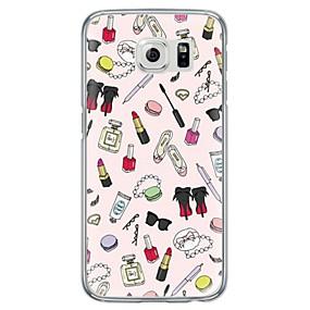 levne Pouzdra telefonu-Carcasă Pro Samsung Galaxy Samsung Galaxy S7 Edge Ultra tenké / Průsvitný Zadní kryt Ostatní Měkké TPU pro S7 edge / S7 / S6 edge plus