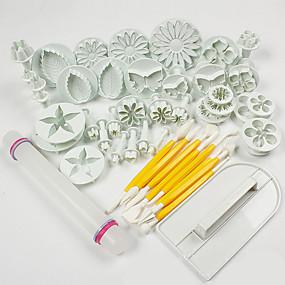 billige Bakeformer-ABS Kake Dekorasjon baking Tool Mote Kake Til Småkake For Småkake Pastry Tool Bakeware verktøy