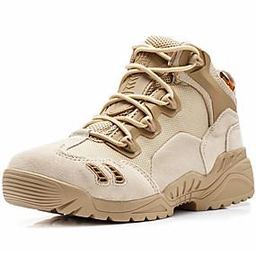 abordables Chaussures de Course Femme-Unisexe Chaussures Daim Printemps Eté Automne Hiver boîtes de Combat Botillons Bottes de Cowboy / Western Confort Chaussures d'Athlétisme