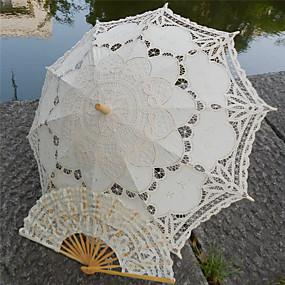 """levne Deštníky-rovná rukojeť Krajka Svatební Plážové Deštník Deštníky 78 cm (cca 30,7"""")"""