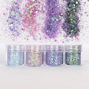 baratos Glitter para Unhas-10ml Glitter & Poudre / Paetês / Pó Glitters / Clássico Diário