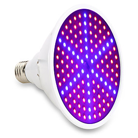 cheap Home & Garden-15W E27 LED Grow Lights 126SMD 90red and 36blue Full Spectrum Indoor Plant Lamp for Plants Vegs Flower Hydroponic System 85-265V