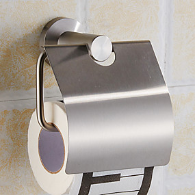cheap Toilet Paper Holders-Toilet Paper Holders Modern Stainless Steel 1 pc - Hotel bath
