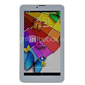 billige Tabletter-7 tommers phablet (Android 4.4 1024 x 600 Dobbeltkjerne 512MB+8GB) / 32 / TFT / Mini USB / SIM-kort Slot / Tf Kort Spor