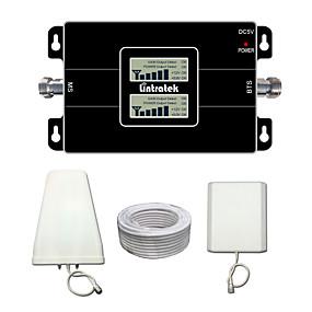 halpa Signaalinvahvistimet-lintratek LCD-näyttö 3g 900 2100 kaksikaistaisen matkapuhelimet tehosterokotus signaalin toistin MTS / tele2 / MegaFon- / vodafone