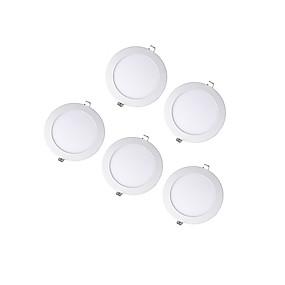 זול נורות לד שקועות-5pcs LED חרוזים שקוע לד  Downlights לבן חם לבן קר לבן טבעי 100-240 V סלון\פינת אוכל חדר שינה מסדרון\חדר מדרגות / חמישה חלקים