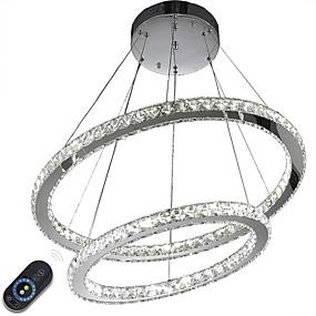 billige Hengelamper-Anheng Lys Omgivelseslys galvanisert Metall Krystall, Mulighet for demping, LED 110-120V / 220-240V LED lyskilde inkludert / Integrert LED