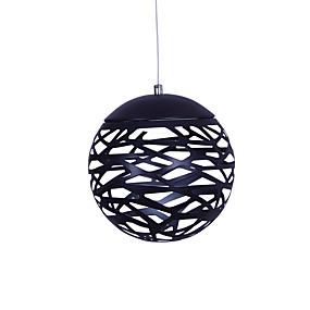 abordables Plafonniers-UMEI™ Globe Lampe suspendue Lumière d'ambiance Finitions Peintes Métal LED 90-240V Blanc Crème / Blanc Source lumineuse de LED incluse / LED Intégré