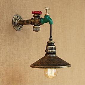 abordables Chandeliers Muraux-appliques murales rustiques / lodge / vintage / country& applique murale en métal pour intérieur 220v / 110v 40w