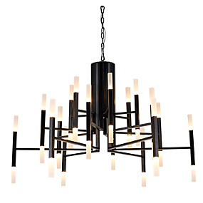 cheap Chandeliers-Ecolight™ Chandelier Ambient Light Painted Finishes Metal Acrylic LED, Designers 110-120V / 220-240V Warm White Bulb Included / G4 / LED Integrated