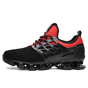 cheap Running Shoes-Men's Novelty Shoes Fabric Summer / Fall Athletic Shoes Running Shoes Black / Red / Green