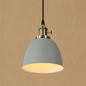 billige Hengelamper-Bowl Anheng Lys Omgivelseslys Malte Finishes Metall Mini Stil, Øyebeskyttelse, designere 110-120V / 220-240V Pære Inkludert / E26 / E27