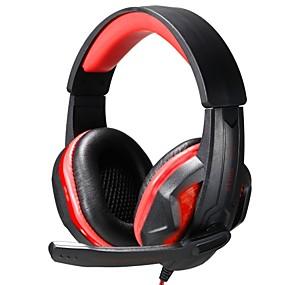 voordelige Gaming-Over Oor / Hoofdband Bekabeld Hoofdtelefoons Muovi Gaming koptelefoon Met volumeregeling / met microfoon / Geluidsisolerende koptelefoon
