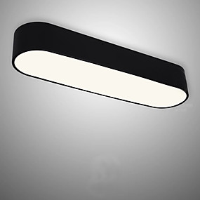 tanie Mocowanie przysufitowe-Podtynkowy Światło rozproszone Malowane wykończenia Akryl Zawiera żarówkę 110-120V / 220-240V Źródło światła LED w zestawie / LED zintegrowany