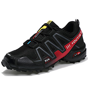 cheap Men's Athletic Shoes-Men's Comfort Shoes Faux Leather Fall / Winter Athletic Shoes Hiking Shoes Black / Gray / Blue