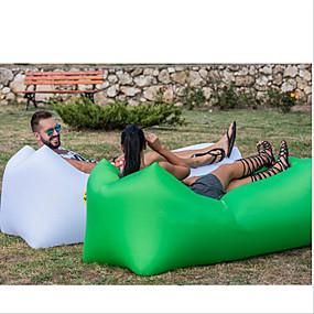 ieftine Sports & Outdoors-Canapea cu Aer Saltea Pneumatică Saltea Penumatică În aer liber Camping Impermeabil Portabil Rezistent la umezeală Canapea ideală pentru design Oxford Camping & Drumeții Plajă Voiaj pentru 1 persoană