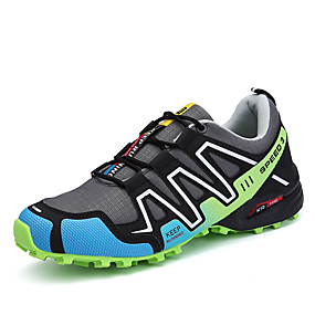 cheap Men's Athletic Shoes-Men's Mesh Spring / Fall Comfort Athletic Shoes Hiking Shoes Red / Green