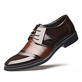 baratos Oxfords Masculinos-Homens Sapatos formais TPU Outono / Inverno Negócio Oxfords Preto / Marron / Casamento / EU41