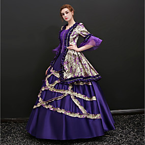 Marie Antoinette Dress Cosplay Costume Masquerade Ball Gown Adults  Women s Victorian  Medieval Renaissance 18th Century Christmas Halloween Carnival ... f27903cc6478