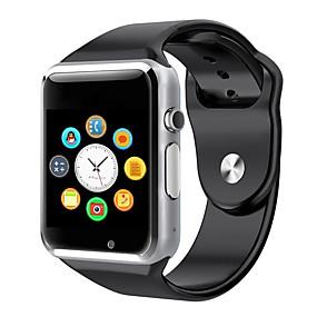 billige Telefoner og elektronikk-a1 armbåndsur bluetooth smart se sport pedometer med sim kamera smartwatch for android smartphone