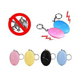 economico Office Supply & decorazioni-autodifesa portachiavi allarme ragazza donne sicurezza proteggere avviso sicurezza personale urlo forte colore ramdon