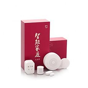 tanie Znane marki-Xiaomi mijia inteligentny zestaw domu bramy drzwi czujniki okna czujnik ciała bezprzewodowy przełącznik mi 5 w 1 inteligentny zestaw bezpieczeństwa w domu