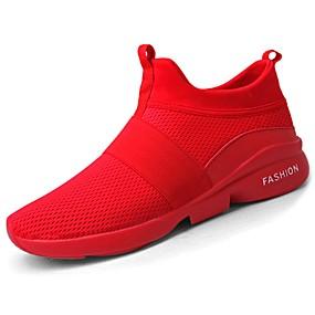 baratos Sapatos Esportivos Masculinos-Homens Sapatos Confortáveis EVA Primavera / Outono Tênis Caminhada Preto / Branco / Vermelho / EU40