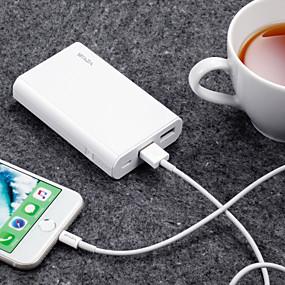 povoljno Snaga banke-waza 10000 mah za vanjsku bateriju baterije za napajanje 5 v za 2,4 a za zaštitu obnovljenog punjača baterije / zaštita od pražnjenja / zaštita od prekomjerne zaštite